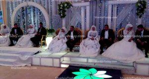 جمعية الأورمان تنظم حفل زفاف جماعي للأيتام بالزقازيق