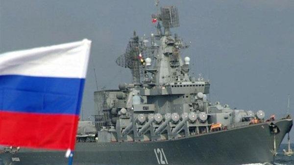 ميل سفينة حربية روسية في طريقها إلى ميناء طرطوس