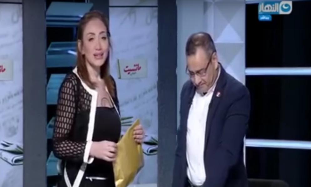 صورة ريهام سعيد للقرموطي: أنت الوحيد اللي اتكلمت عني كويس وأنا في السجن