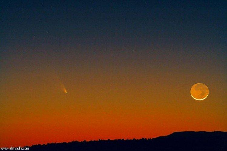 صورة البحوث الفلكية: الثلاثاء أول أيام شهر شعبان فلكياً