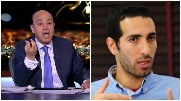 صورة عمرو أديب يهاجم أبو تريكة: مش هنوقف حياتنا عشان لاعب كورة