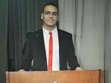 صورة تعرف على «أحمد الخطيب» الطالب المثالي بجامعة الزقازيق لعام 2018