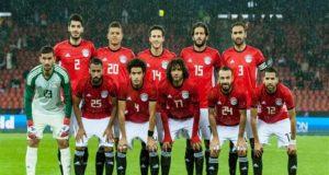 تشكيل منتخب مصر أما بلجيكا
