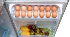 وضع البيض في باب الثلاجة يعرضك لأخطار صحية