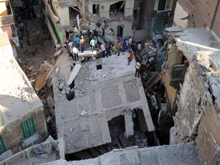 صورة 3 وفيات و3 مصابين الحصيلة النهائية لانهيار عقار الإسكندرية