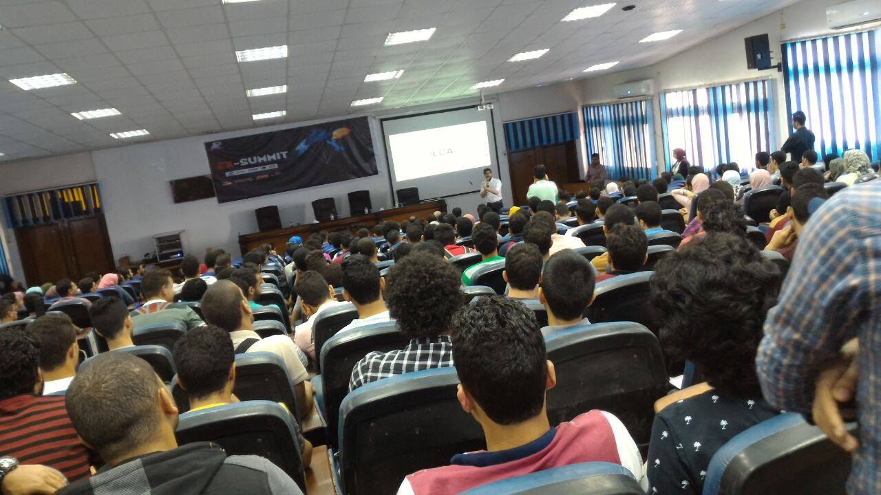 صورة اتحاد هندسة الزقازيق ينظمون مؤتمر يهدف ربط الطلاب بسوق العمل