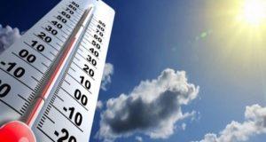 الأرصاد ارتفاع الحرارة بنحو 6 درجات مئوية خلال الأيام المقبلة