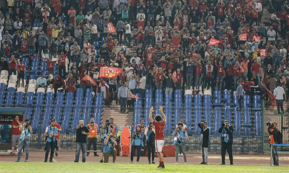 صورة بث مباشر مباراة اعتزال حسام غالي الأهلي وأياكس الهولندي