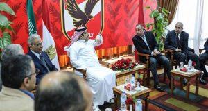 تركي آل الشيخ يعلن دعمه للأهلي