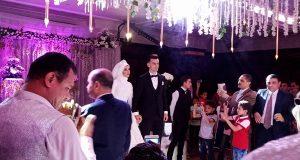 زفاف دونجا لاعب الزمالك
