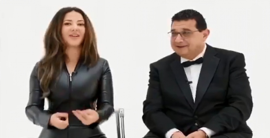 صورة مفاجأة دنيا سمير غانم وماجد الكدواني للجمهور في رمضان 2018