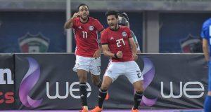 مصر تتعادل مع الكويت