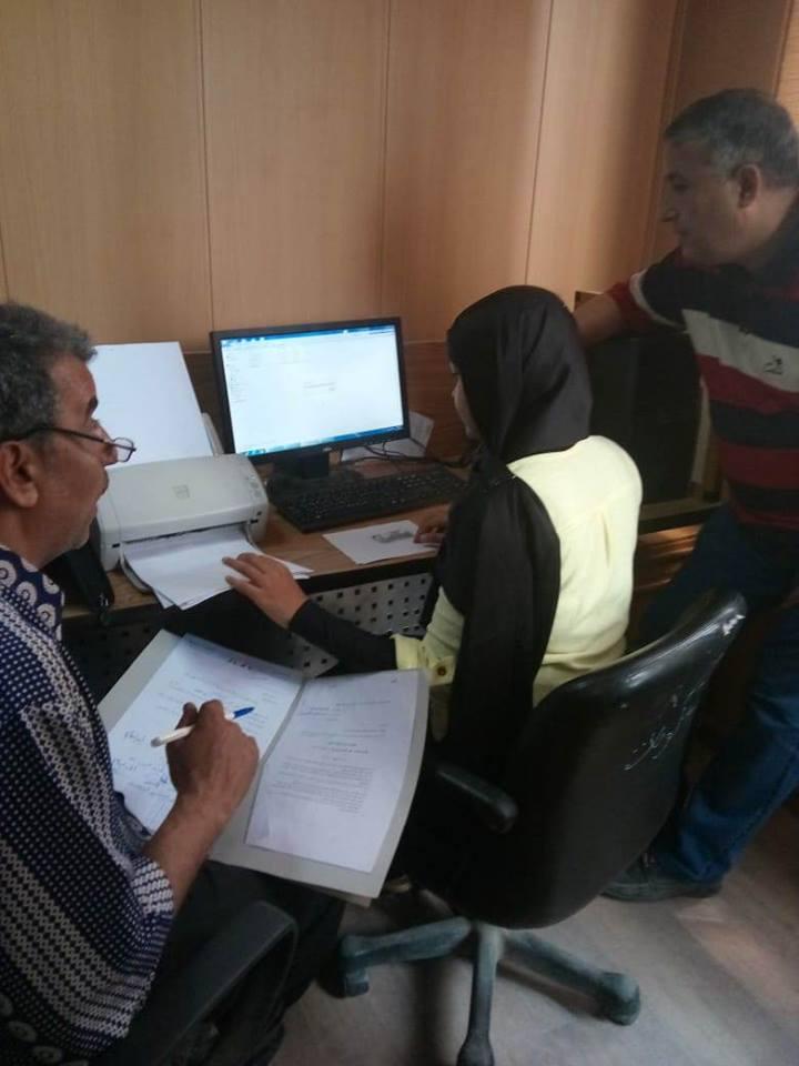 صورة ميكنة ملفات العاملين بمديرية الصحة بالشرقية إلكترونياً
