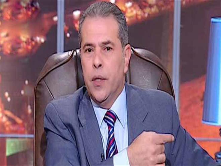 صورة القبض على توفيق عكاشة لتنفيذ حكم قضائي