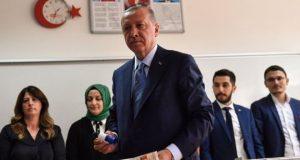أردوغان يعلن فوزه في انتخابات الرئاسة التركية