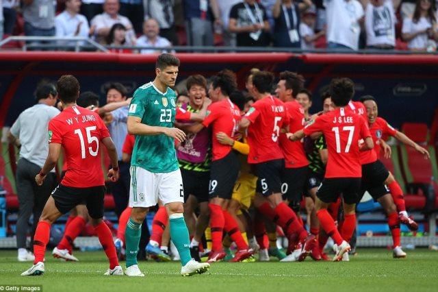 أهداف ألمانيا وكوريا الجنوبية