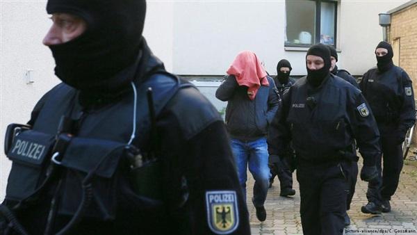 صورة اعتقال الحارس الشخصي السابق لـ بن لادن في ألمانيا