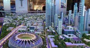 الصين تشيد أطول برج في مصر بالعاصمة الإدارية