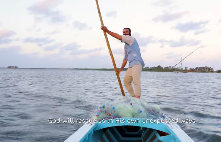 مفاجأه لصياد مصري من مؤسسة الشيخ زايد