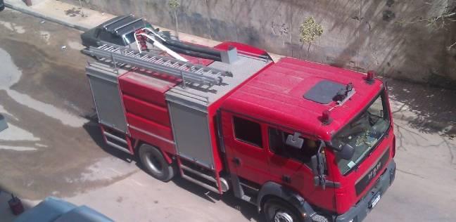 صورة السيطرة على حريق محدود في كافتيريا بجامعة الزقازيق