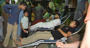 شباب قرية هرية رزنة يحيون ليلة القدر بالتبرع بالدم