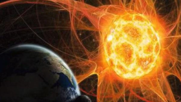 صورة عاصفة مغناطيسية تضرب الأرض أواخر الشهر الجاري