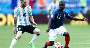 فرنسا تفوز على الأرجنتين