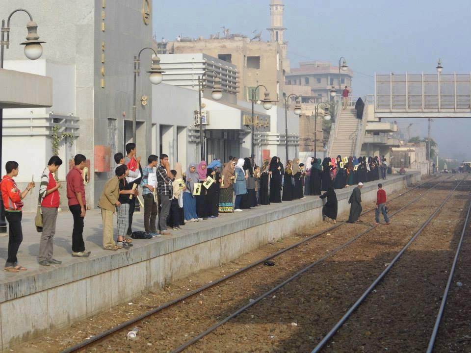 صورة مواعيد قطارات منيا القمح القاهرة وأماكن التوقف