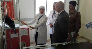 وكيل وزارة الصحة بالشرقية يفاجئ مستشفيات المحافظة