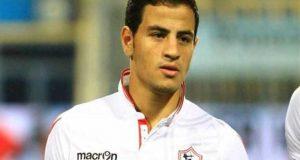أحمد توفيق لاعباً في نادي بيراميدز