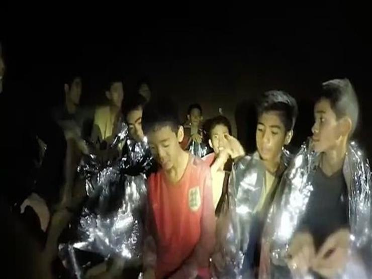 صورة ماذا قالأطفال كهف تايلاند بعد إنقاذهم من الموت؟