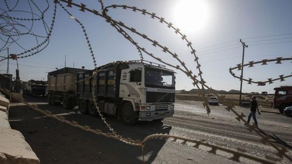 صورة إسرائيل تمنع إدخال البضائع والأغذية إلى قطاع غزة