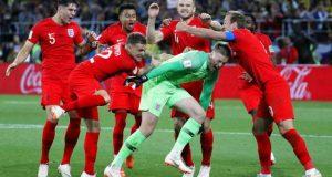 إنجلترا تفوز على كولومبيا