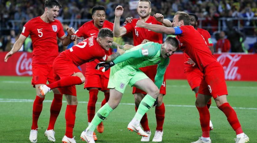 صورة إنجلترا تفوز على كولومبيا بركلات الترجيح وتتأهل لربع نهائي كأس العالم