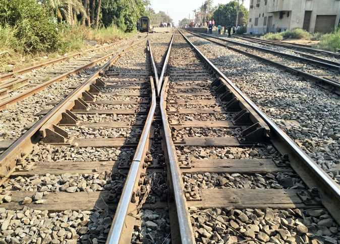 استئناف حركة قطارات الصعيد بعد حادث البدرشين