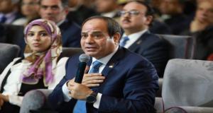 السيسي عن مبلغ حفر قناة السويس الجديدة
