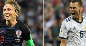 بث مباشر مباراة كرواتيا وروسيا
