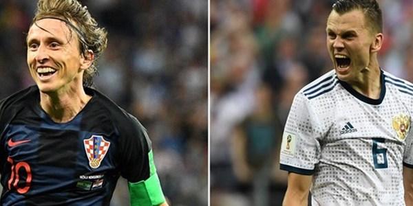 صورة بث مباشر مباراة كرواتيا وروسيا في كأس العالم