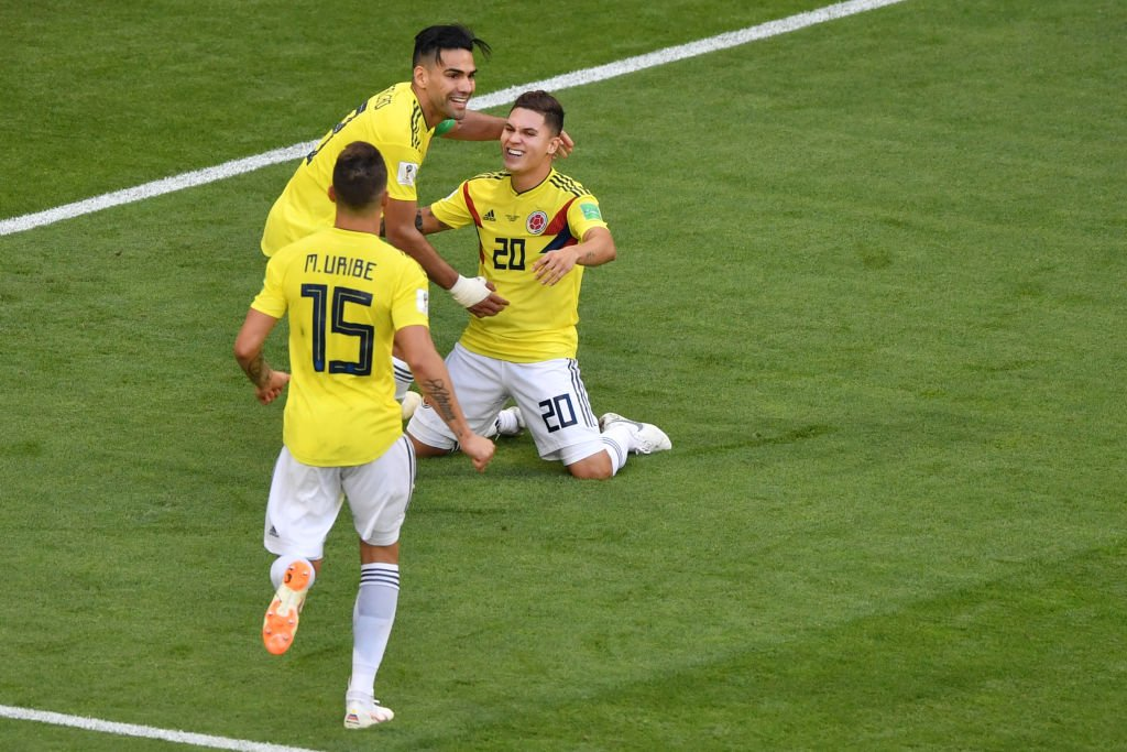 صورة بث مباشر مباراة كولومبيا وإنجلترا بكأس العالم