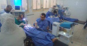 تنفيذ 131 عملية جراحية بأولاد صقر