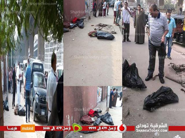 جثث مذبحة أطفال المريوطية