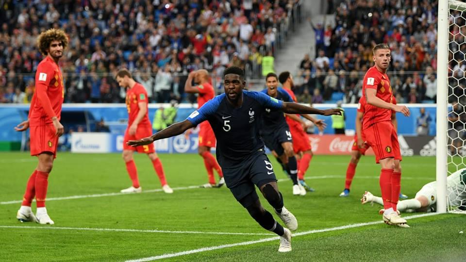 فرنسا تفوز على بلجيكا وتتأهل لنهائي كأس العالم