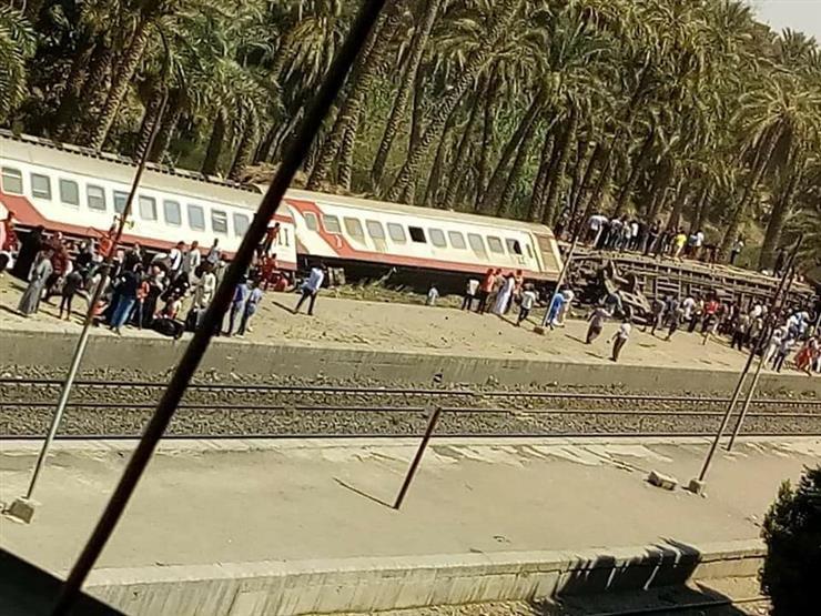 مستشار وزيرة الصحة يتعرض لأزمة قلبية بعد تفقده حادث قطار البدرشين