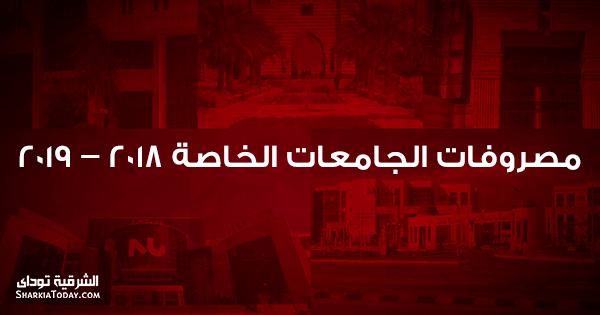 الجامعات الخاصة للعام الدراسي الجديد 2018 – 2019