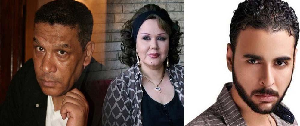 صورة هياتم ومحمد شرف ومصطفى العلي.. الحزن يخيم على فنانين مصر