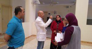 وكيل صحة الشرقية يتفقد مركز طب الأسرة بالعاشر من رمضان