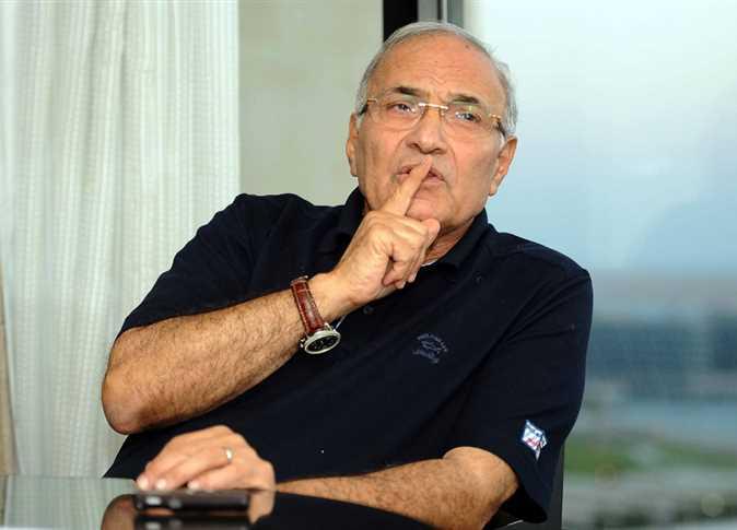 صورة الفريق «أحمد شفيق» يكشف حقيقة عودته للحياة السياسية