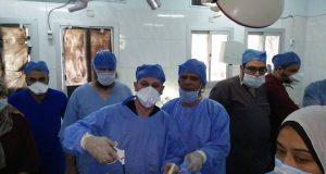 إجراء 44 عملية جراحية لأهالي السعديين