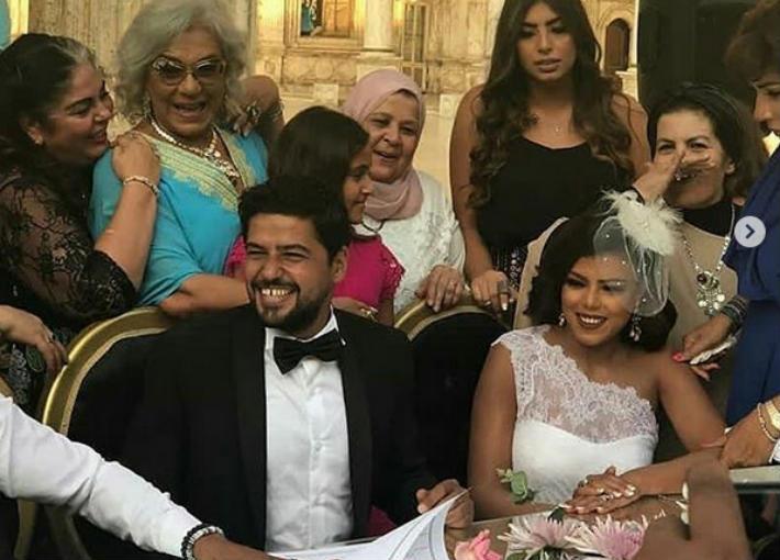 صورة إلغاء زفاف ناهد السباعي لهذا السبب