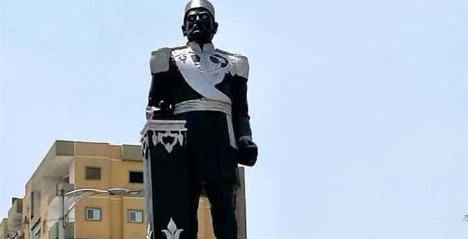 تحرك حكومي بعد تشوية تمثال الخديوي إسماعيل